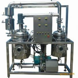 索氏热回流提取浓缩机组