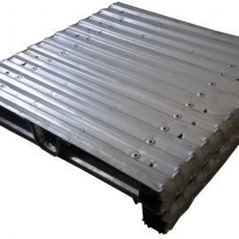 大米厂饲料厂专用金属托盘钢制托盘