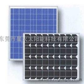 50W 单晶太阳能电池板:太阳能板:光伏组件:太阳能电池板: