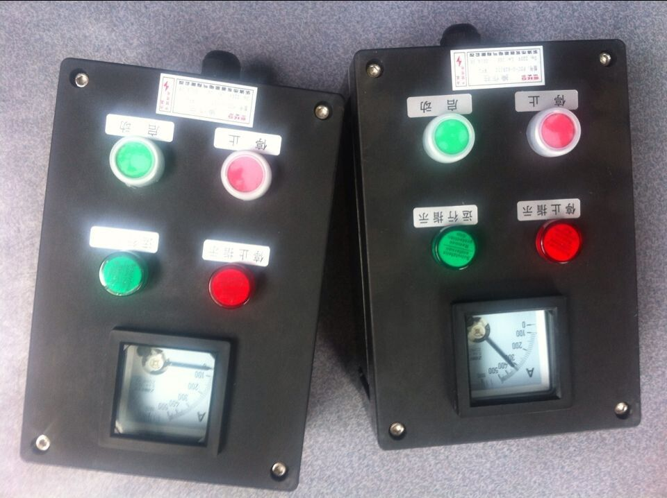 FZC-S-A2D2K1B1LH户外防强腐黑色机旁操作箱