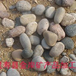 黄骅白色鹅卵石滤料,白色鹅卵石填料