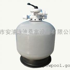 台山安浦S800泳池顶出式灰色砂缸