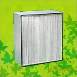 镀锌框有隔板高效过滤器/高效空气过滤器生产厂家