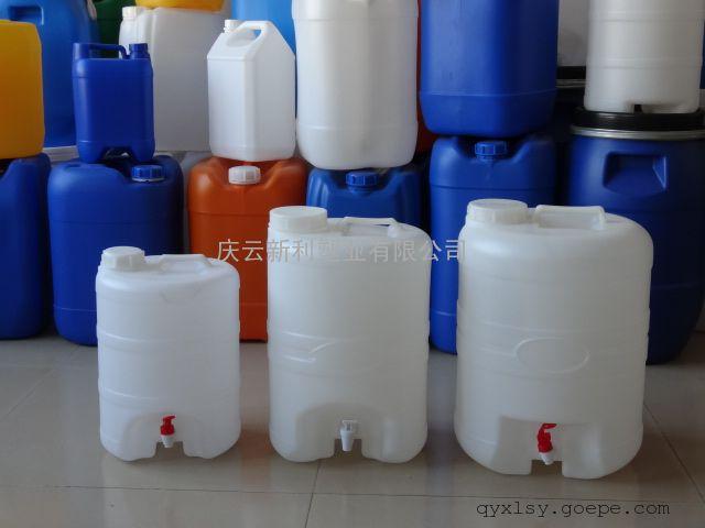 10公斤水嘴塑料桶,10升塑料桶带龙头,10L塑料桶供应