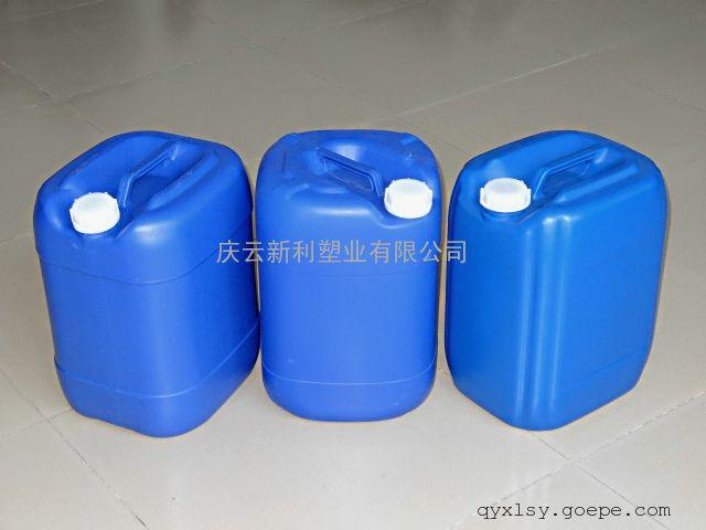 庆云新利塑业25公斤塑料桶,25KG堆码塑料桶
