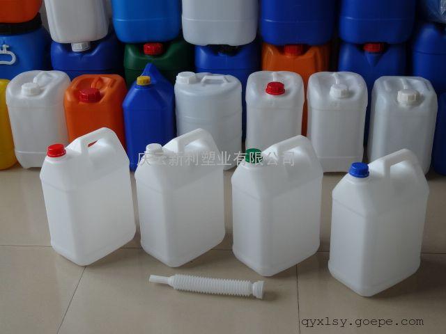 新利塑业10升塑料桶,10公斤塑料桶,10KG塑料桶供应
