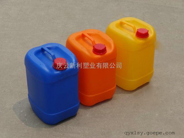 8.5升塑料桶,8.5L方塑料桶,8.5KG堆码塑料桶