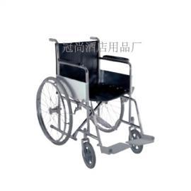 供应冠尚C-45残疾人车 不锈钢残疾人车 轮椅车