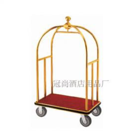 厂家直销XL-1C小金顶行李车 大堂手推行李车 服务车