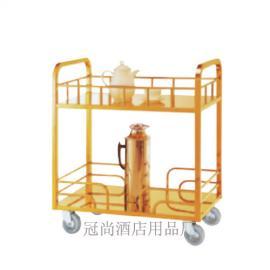 暖水瓶车 钛金酒店酒水车服务推车 不锈钢餐车茶水车