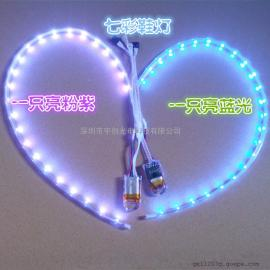 厂家批发LED灯鞋灯带LED发光鞋灯RGB