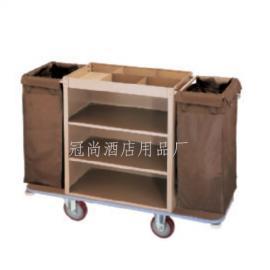 厂家供应C-21客房服务车(拆装钢板烤漆)双边客房服务车