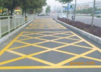 划线工程-彩色路面