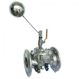 上海厂家供应优质100X不锈钢遥控浮球阀