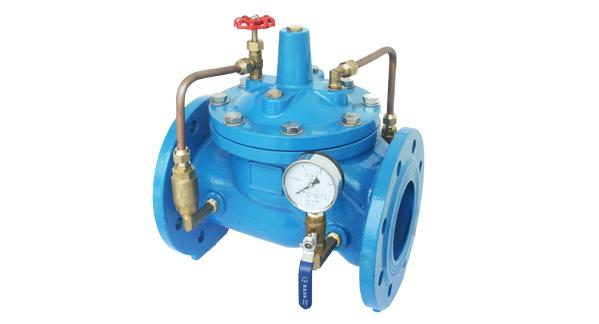 水力控制阀-200x可调式减压阀图片