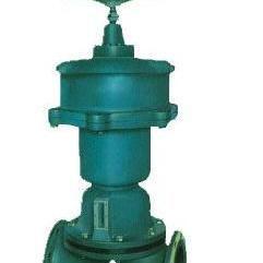 衬氟阀门 G6K41F46-10耐腐蚀常开式气动衬氟隔膜阀