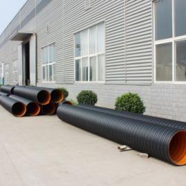 偃师、孟津、新安县钢带双壁波纹管,钢带排污管
