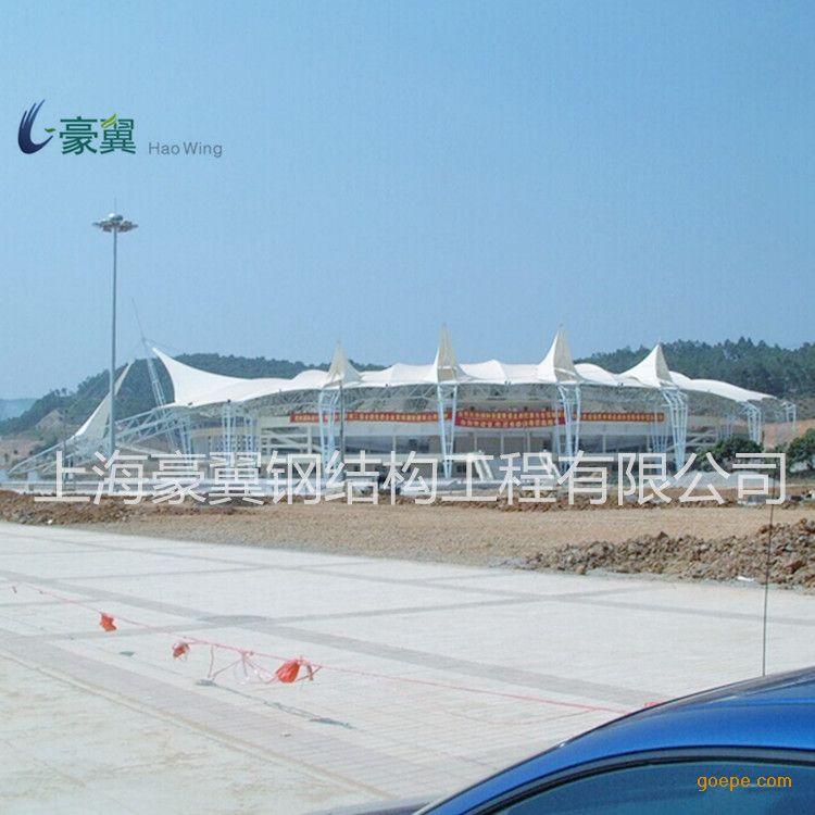 谷瀑环保设备网 景观材料 钢结构/膜结构 上海豪翼钢结构工程有限公司