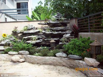 园路边,广场上,水池边,墙角处,甚至在屋顶花园等多种环境中,假山和石