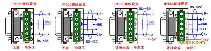 rs-485/422接口(接线端子)