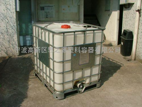 厂家供应加强1000l集装桶加厚塑料吨桶