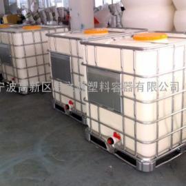 厂家供应HDPE1000Libc吨桶 集装桶化工桶