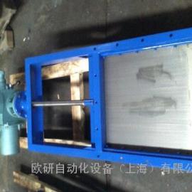电动方形插板阀 手动方形插板阀 气动方形插板阀