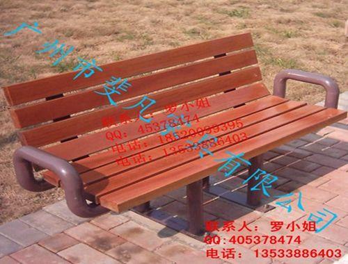 广场木质休闲椅;景区公园椅