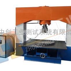 球墨铸铁井盖压力机,球墨铸铁井盖承载能力检测设备