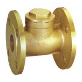 厂家供应优质黄铜法兰止回阀