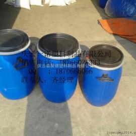 化工桶50升塑料抱箍桶,50升法�m桶�S家