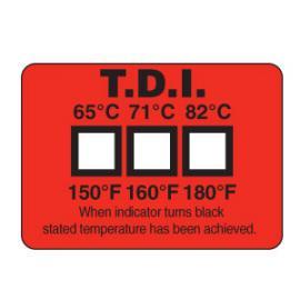 美国omega洗碗机测温纸 TL-TI-3洗碗机测温纸