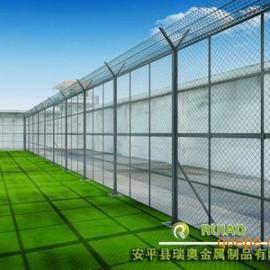 监狱隔离钢网墙 看守所梅花刺网防爬网