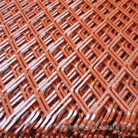 小钢板网 不锈钢拉伸网 菱形孔金属板网