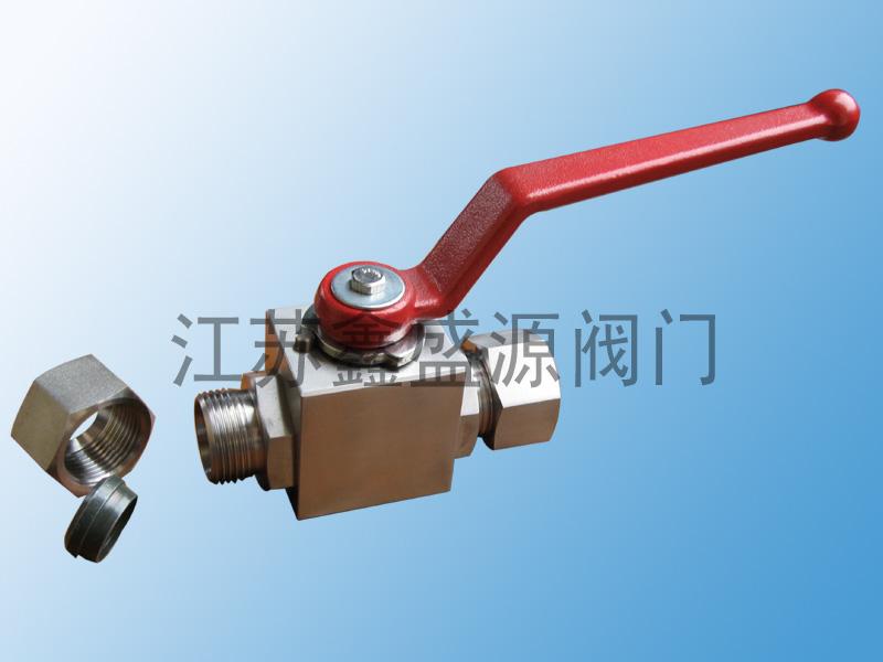 卡套式CNG天然气不锈钢高压球阀