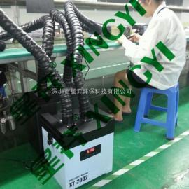 工厂烙铁焊锡吸烟机
