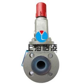 供应全衬氟安全阀|上海怡凌WA43F46波纹管衬四氟安全阀
