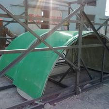 输送机防雨罩|玻璃钢防雨罩|皮带机防雨罩