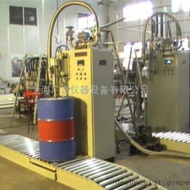 自动计量 化工溶剂 润滑油 树脂 防爆系列200升灌装机