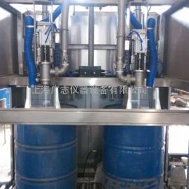 润滑油液体200升称重灌装机