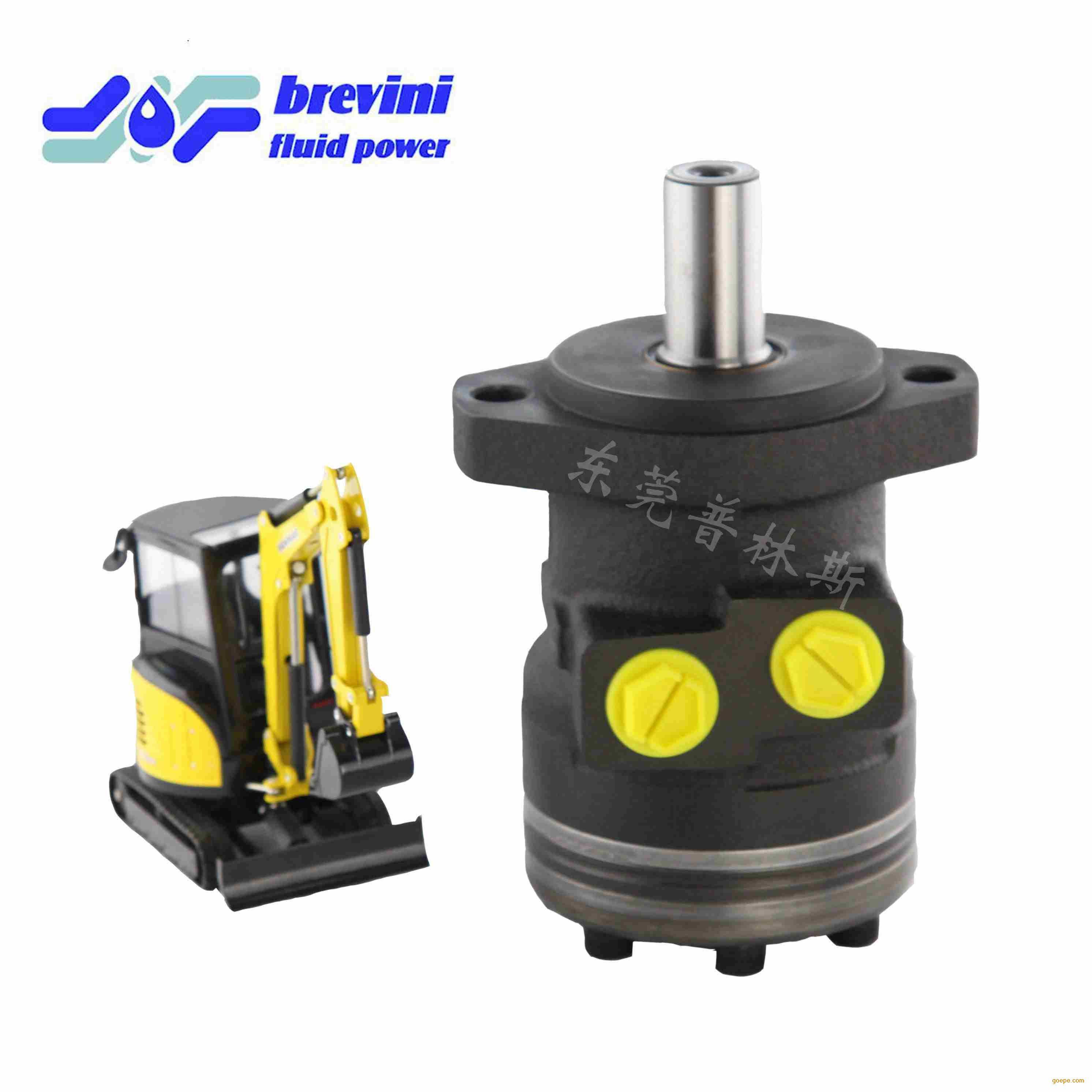 意大利布雷维尼 摆线液压马达 钻机用bge-200 油图片
