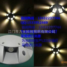 六面发光LED圆形十字星光灯