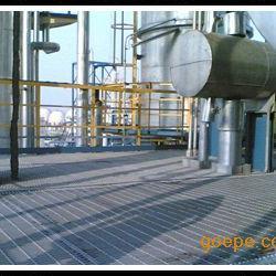 海上钻井平台钢格板 石油平台钢格板 钢结构甬道格栅板