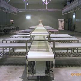 特恩特羊屠宰设备羊分割输送装置