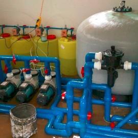 泳池水处理过滤系统