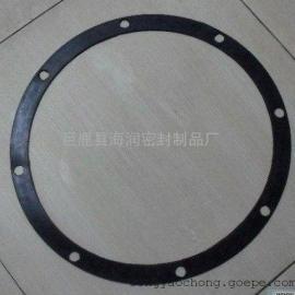 大尺寸硅橡胶密封垫片@*-氟橡胶法兰管道密封垫圈
