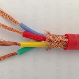 阻燃防腐硅橡胶屏蔽电缆 ZR-KFGP-4*2.5