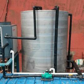 宾馆空气源热泵热水系统