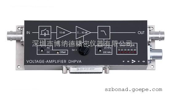德国FEMTO带宽电压放大器DHPVA系列
