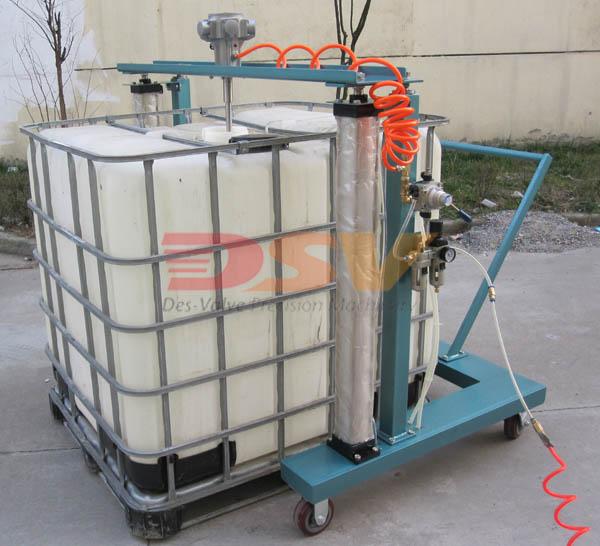 气动升降式IBC桶吨桶气动升降搅拌器/厂家直销气动搅拌器